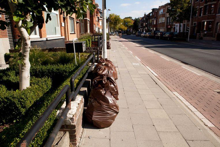 Bepaalde afvalzakken worden vandaag niet opgehaald.