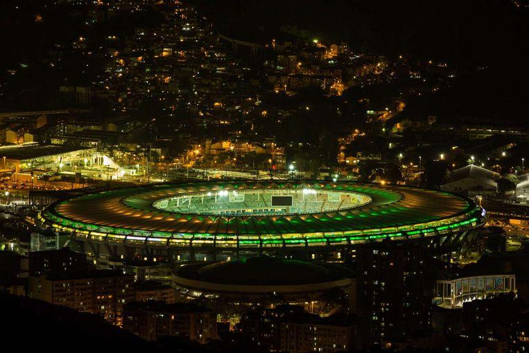 Finalestationd Maracanã. Beeld anp