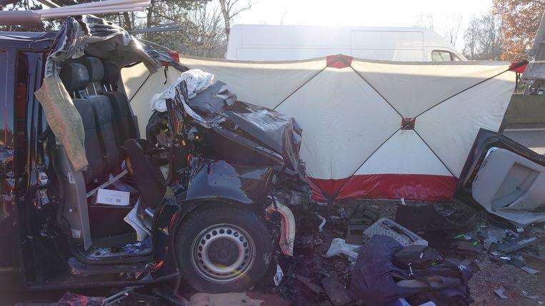 Een bestelwagenchauffeur uit Oud-Turnhout reed in op de file van het eerste ongeval. Ook hij kwam om het leven.