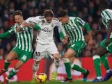 Real Madrid boekt een 1-2 overwinning op Real Betis