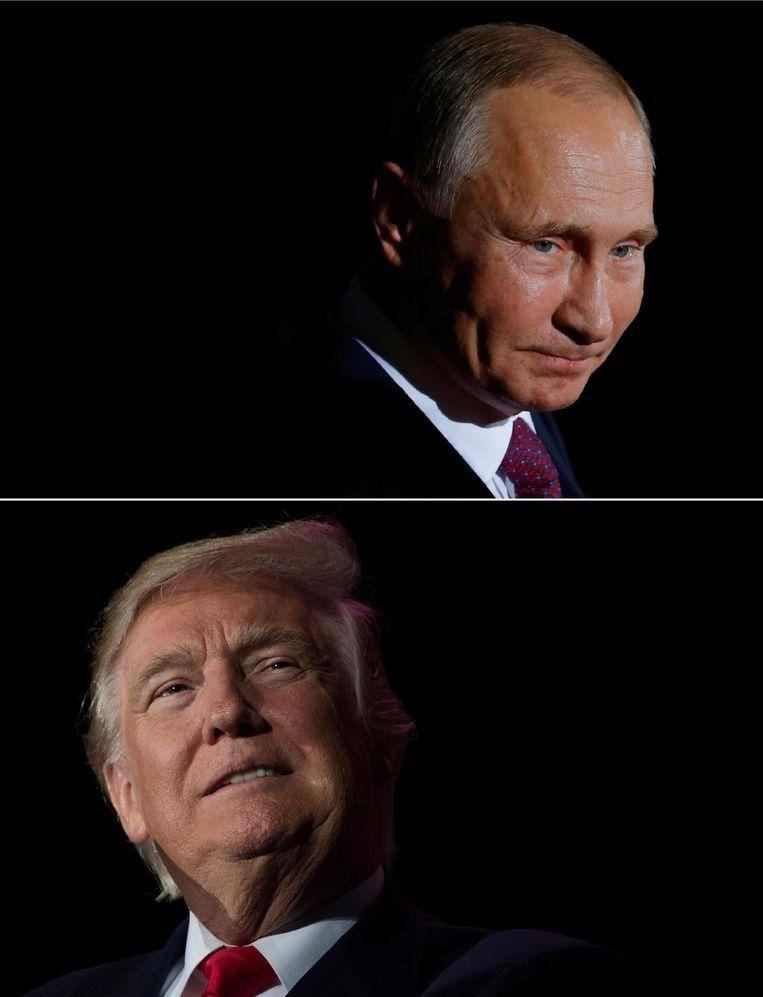 Waarschijnlijk ontmoeten Poetin en Trump elkaar pas over enkele maanden Beeld null
