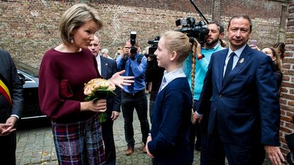 Koningin komt zélf proeven bij Spermalie