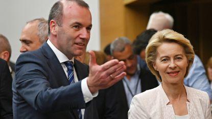 """Manfred Weber voelt zich bestolen: """"De schuld voor mijn nederlaag ligt bij de as Macron-Orban"""""""