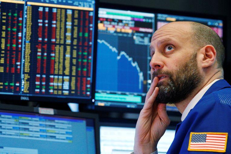 De Dow Jones zakte begin februari met 4,6 procent, een koerscorrectie na aanhoudende beursrecords.