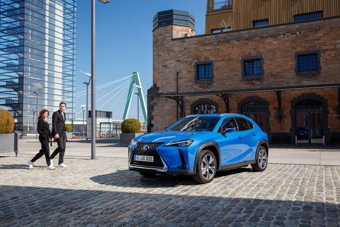 Lexus Onwaardige Laadcapaciteit En Actieradius De Elektrische Ux 300e Auto Ad Nl