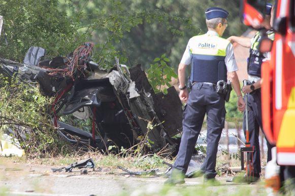 Het ongeval deed zich vorige week vrijdag voor op de Houtlaan in Wijnegem.