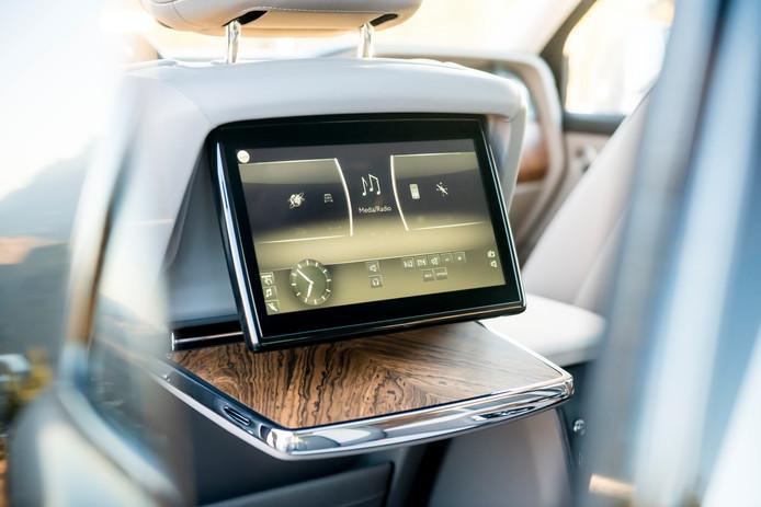 Individueel infotainment voor de passagiers achterin