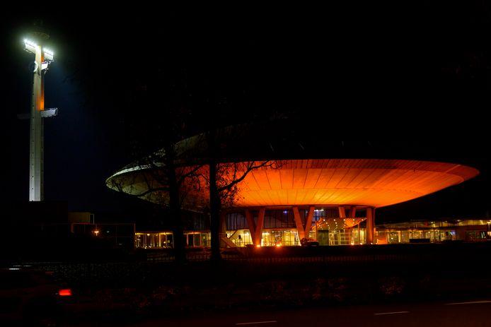 Het Evoluon in Eindhoven, waar mogelijk het nieuwe design- en technologie-instituut Complex onderdak krijgt (archieffoto).
