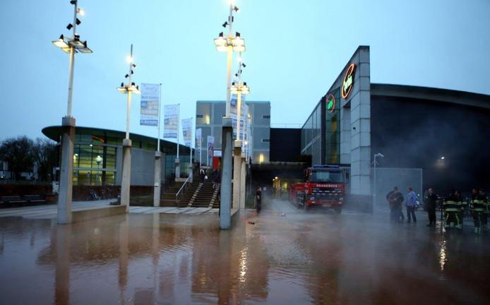 Waterlek bij Sportiom Den Bosch