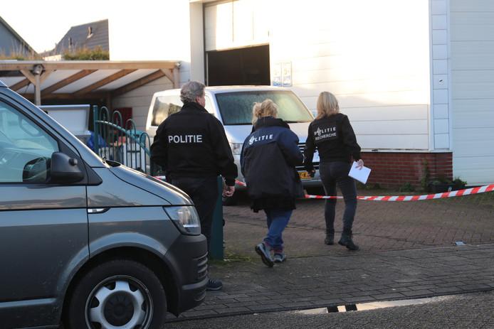 Inval bij drugslab in Apeldoorn.
