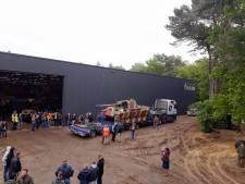 Duitse Panther-tank aangekomen uit Frankrijk in Overloon: net op tijd voor Militracks