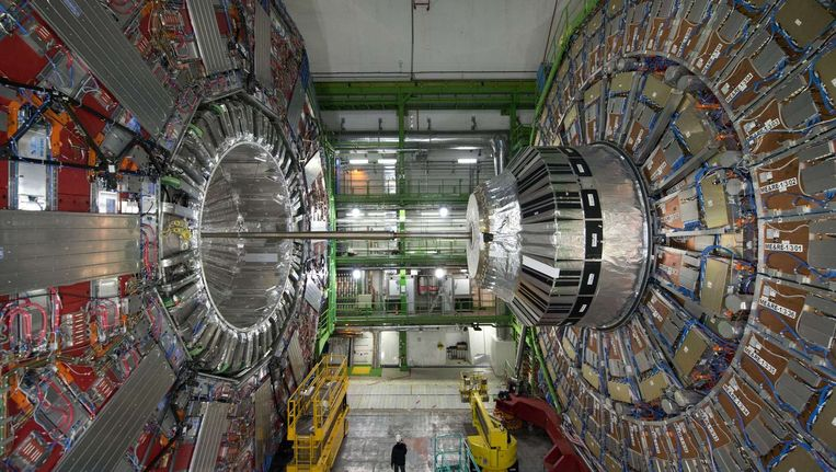 De CMS-detector van het CERN.