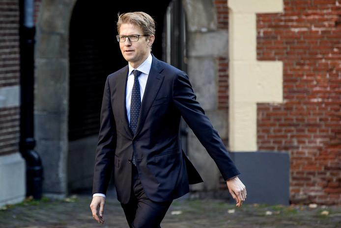 Sander Dekker, minister voor Rechtsbescherming.