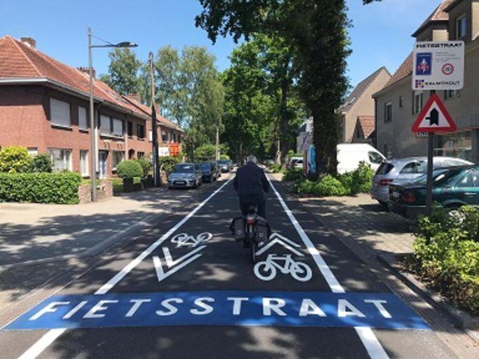 De Leopoldstraat is al een tijdje een fietsstraat.