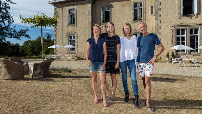 Erica, Montana, Maxime en Martien Meiland.