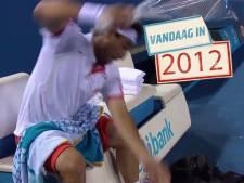 Woedende Baghdatis ramt vier rackets aan gort