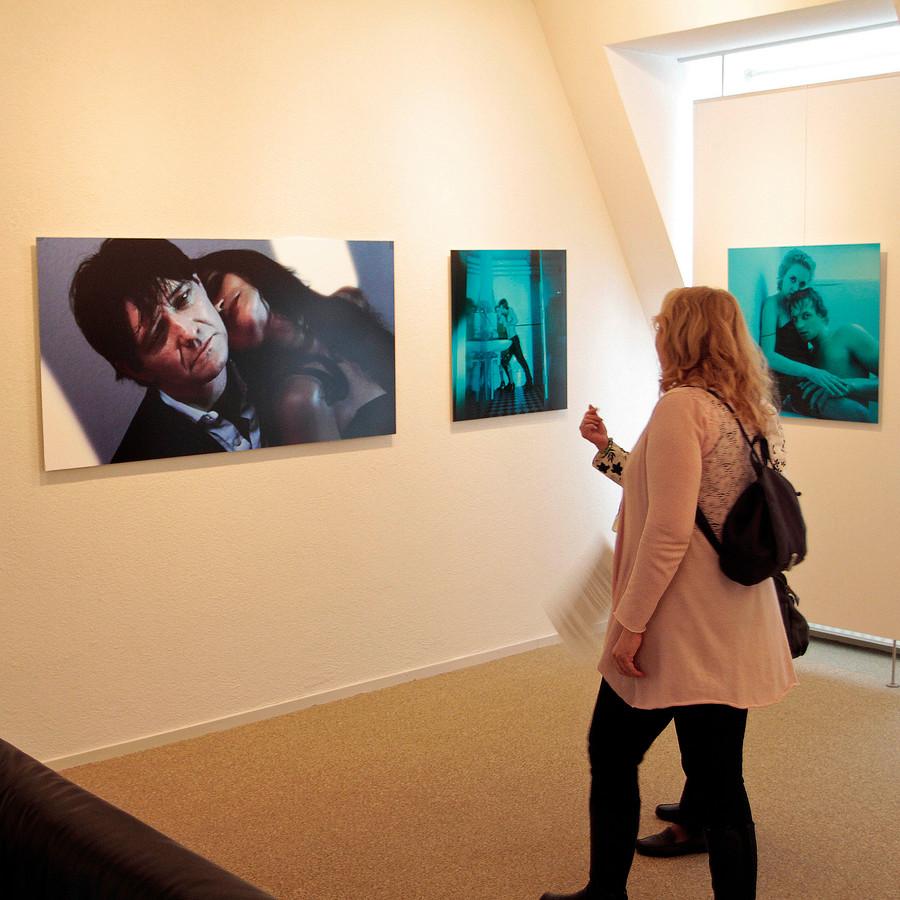 Een expositie met werk van fotograaf Wim van de Hulst in Museum Van Lien in Fijnaart.
