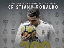 Ronaldo rondt kaap van 300 goals, Tankink wint Omloop in zijn categorie