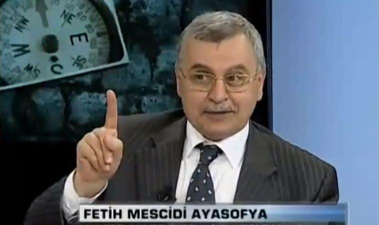 Rector Ahmet Akgündüz van de Islamitische Universiteit Rotterdam. Beeld YouTube