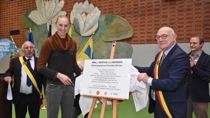 Basketballegende Ann Wauters opent Sporthal 2.1. en Speel.