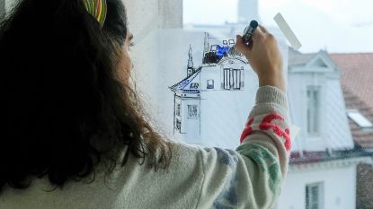 Leerlingen van kunsthumaniora geven show op Muntplein