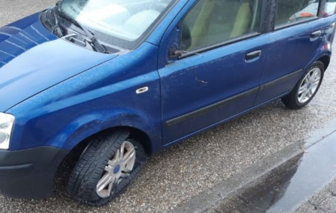 Beschadigde auto van dronken vrouw (60) uit Schijndel
