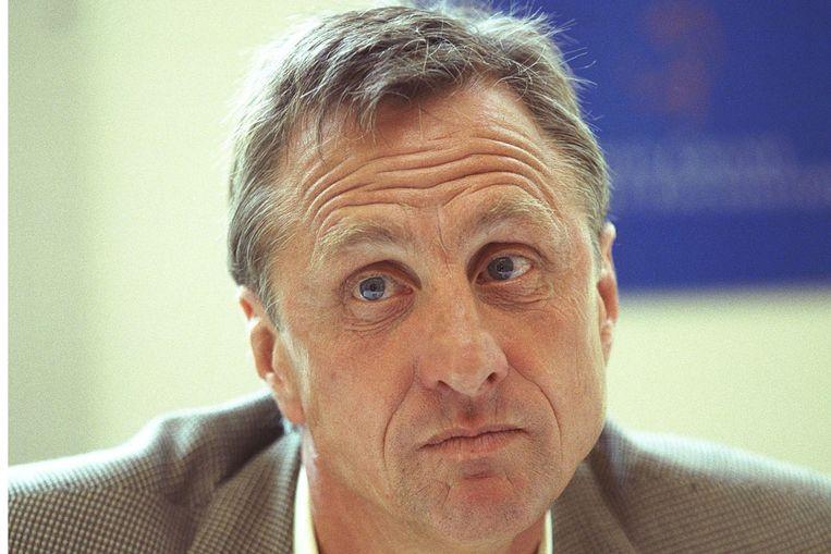 Johan Cruijff. (ANP) Beeld