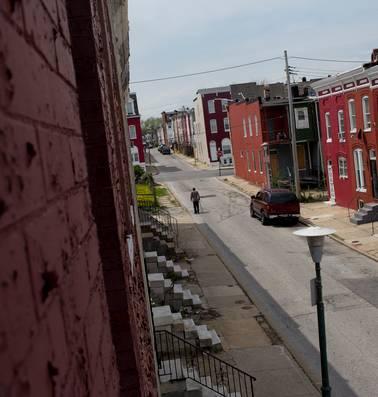 In Baltimore is de huizencrisis alweer terug
