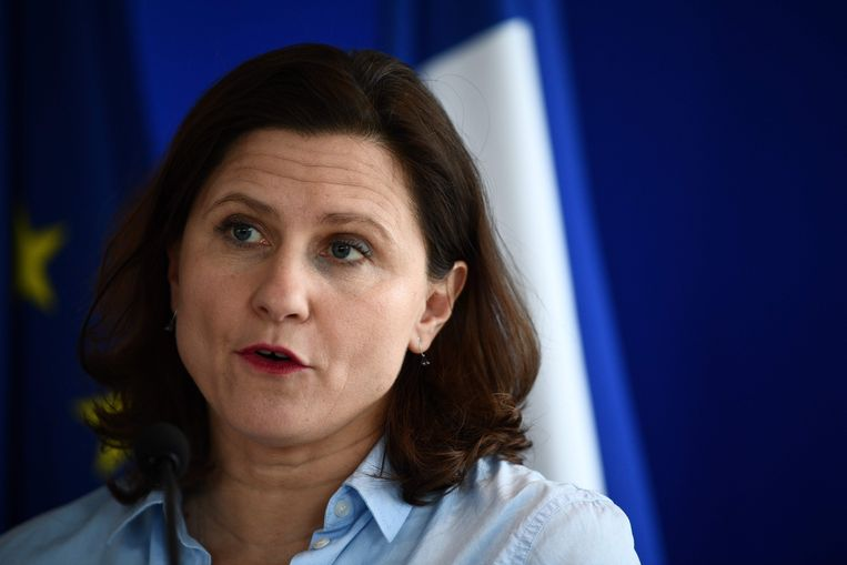 De Franse minister van Sport Roxana Maracineanu
