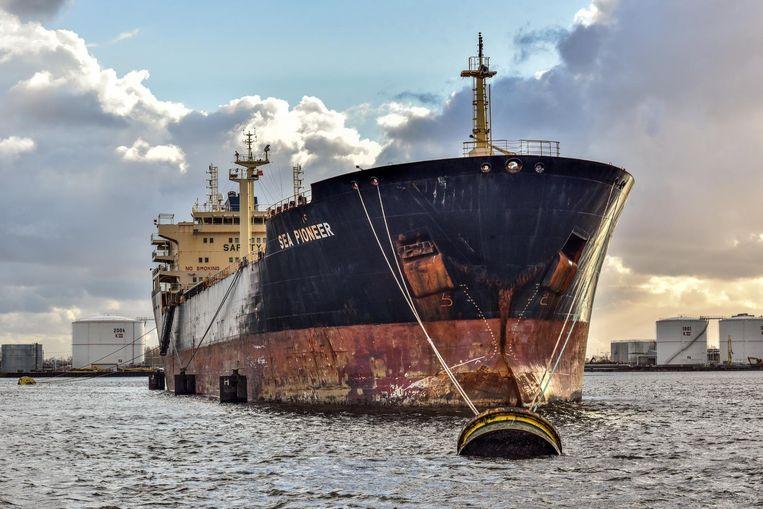 De olietanker Sea Pioneer Beeld Joris van Gennip
