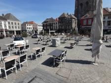 Grote Markt Bergen op Zoom één groot terras