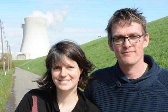 Liese Stuer woont met haar partner Kevin De Mey in Doel en zou zelf maar al te graag gebruik maken van de Waterbus.
