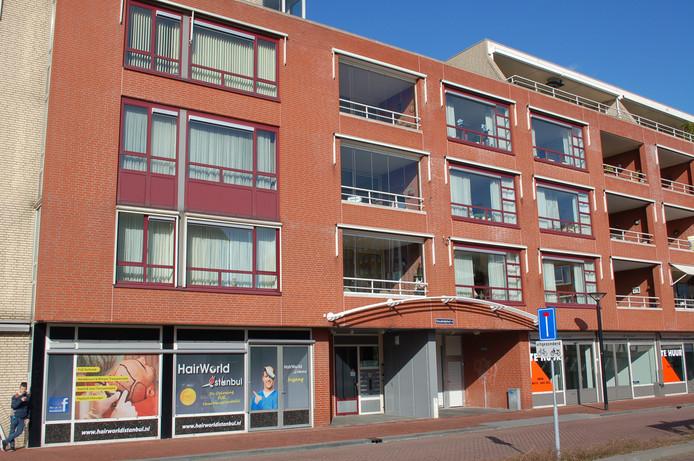 Het appartementencomplex Goudmijnhof in Oss.
