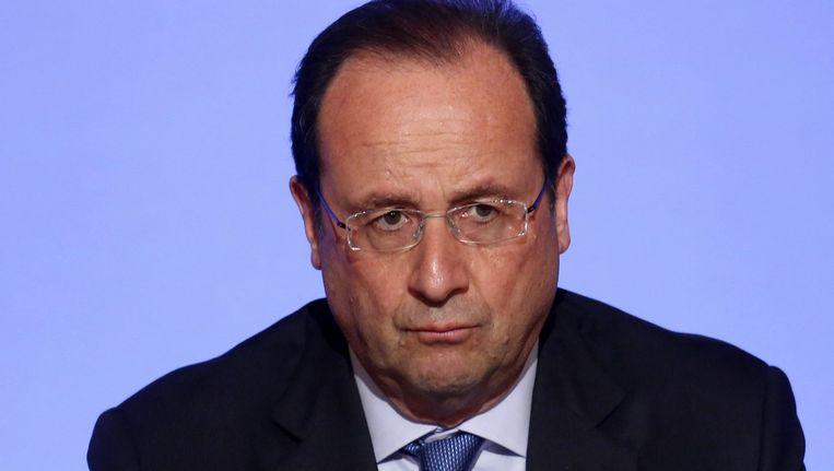 Franse president François Hollande.