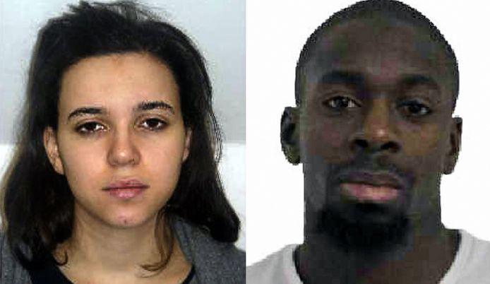 Amédy Coulibaly et son ex-épouse Hayat Boumeddiene, partie en Syrie juste avant les attentats de janvier 2015.
