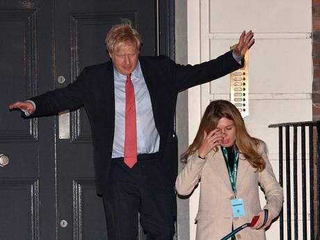 LIVE | Boris Johnson: Brexit! Geen mitsen en maren meer.