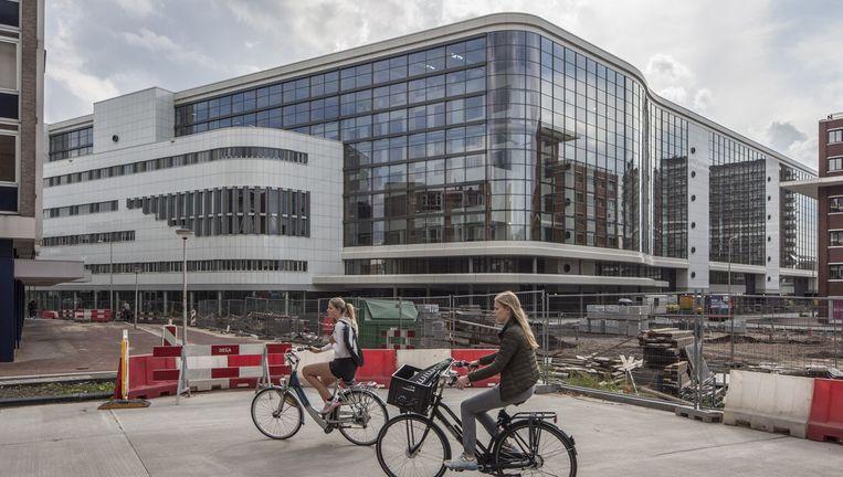 De nieuwe hoofdvestiging van Medisch Spectrum Twente in Enschede Beeld Harry Cock/De Volkskrant