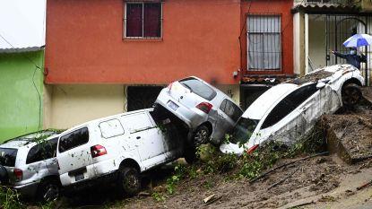 Meer dan dertig doden door tropische stormen, vooral El Salvador zwaar getroffen