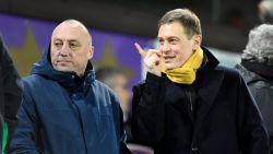 Nieuwe sterke duo Anderlecht maakt meteen opwachting in eretribune waar ook Mogi Bayat zit