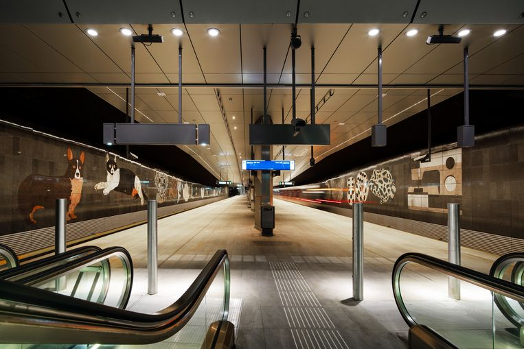 Daniel Dewar en Grégory Gicquel: The crocodile, the melodica, the pike fish, the high heel pump... Beeld Jannes Linders/Benthem Crouwel Architects