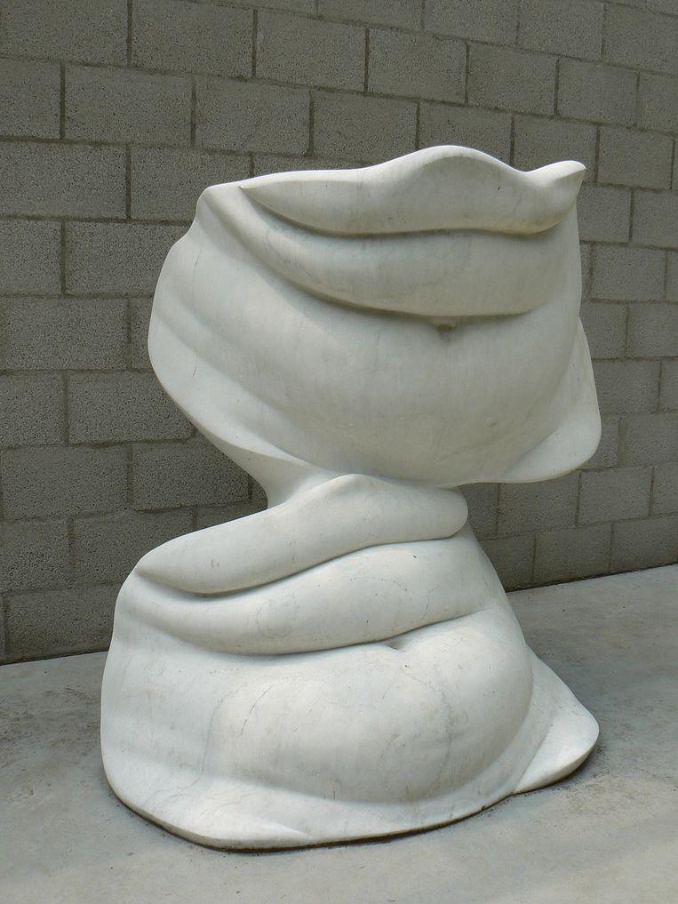 Buiken (1968)van Alina Szapocznikow , te zien in Kröller Muller. Beeld