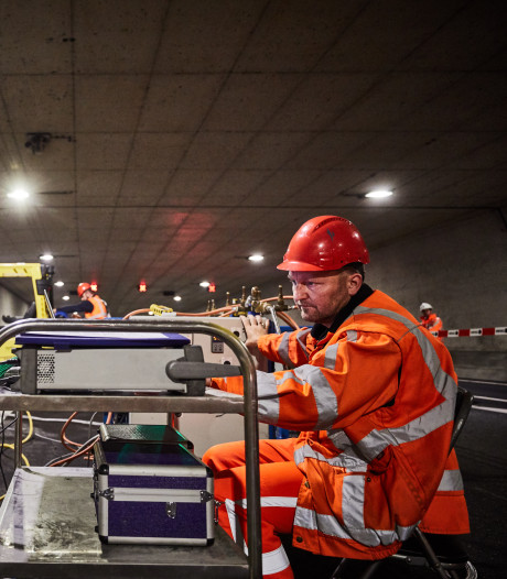 Hitteproeven in Ketheltunnel lijken geslaagd: 'Een tunnel moet het bij brand 60 minuten lang volhouden'