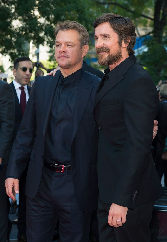 Matt Damon et Christian Bale