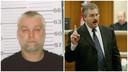 Links Steven Avery (53) en rechts openbaar aanklager Ken Kratz.