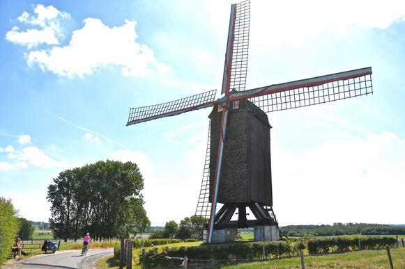 De molen van de Poelberg.