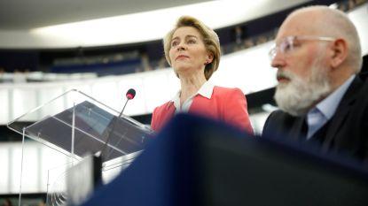 LIVE. Europese Commissie stelt strategie voor klimaatneutraal Europa voor