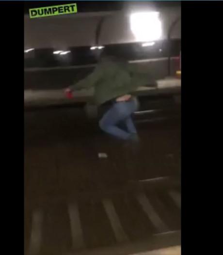 Spoorspringer Dukenburg meldt zichzelf op politiebureau