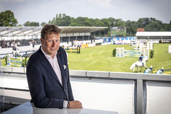 Directeur Rob Maathuis van het CSI Twente, waar de blik al is gericht op de editie van 2021.