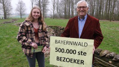 Half miljoen bezoekers voor loopgravensite Bayernwald