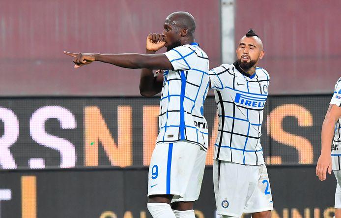Romelu Lukaku maakte alweer zijn vijfde treffer van het seizoen, tegen Genoa.
